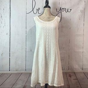 Sundance White Sirroco Lace Dress  XL NWT